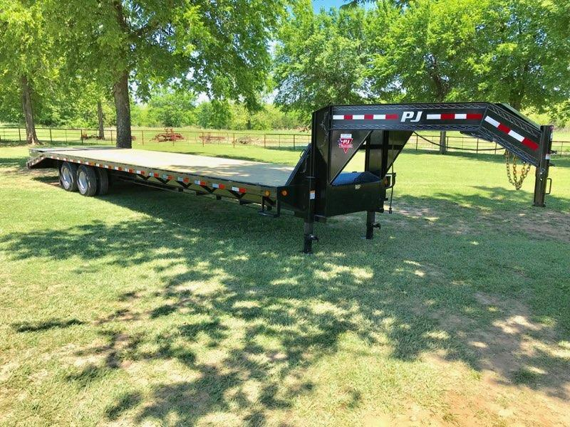 2019 PJ Trailers 36' Classic Flatdeck with Duals