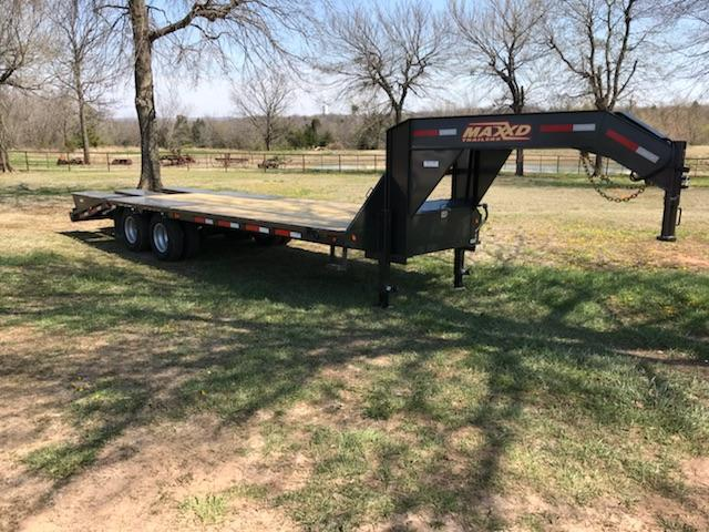 2018 MAXXD Trailers 25' LDX Low-Pro Flatbed Trailer 25K