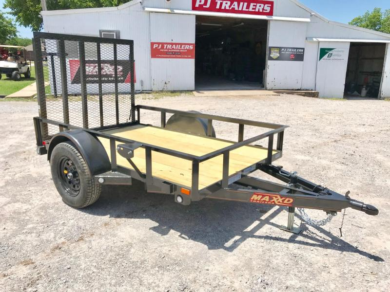 2019 MAXXD 8' x 5' Single Axle Utility