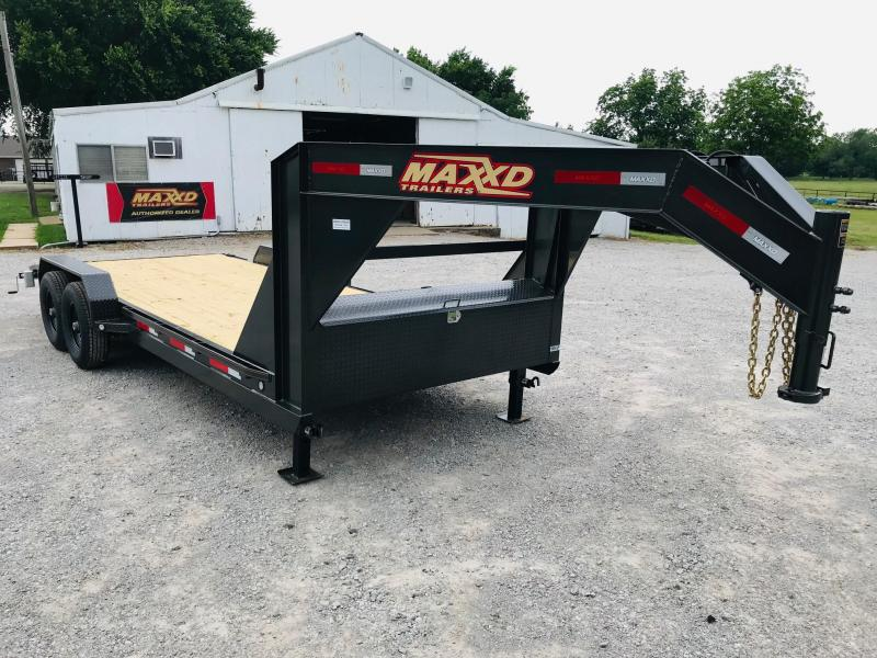 "2019 MAXXD 20' x 83"" GN Equipment Hauler 14K"