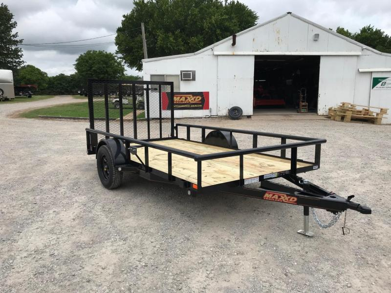 "2019 MAXXD 12' x 77"" Single Axle Pipetop Utility"