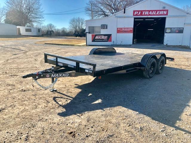"2019 MAXXD 16' x 83"" Steel Channel Carhauler 7K"