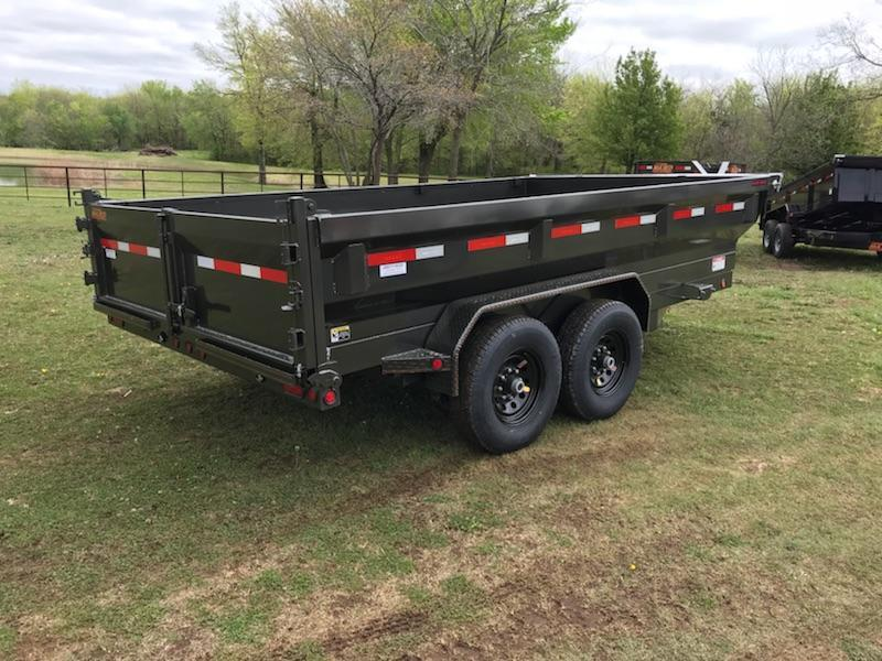 2018 MAXXD 14' x 7' HD Dump With Flare Sides