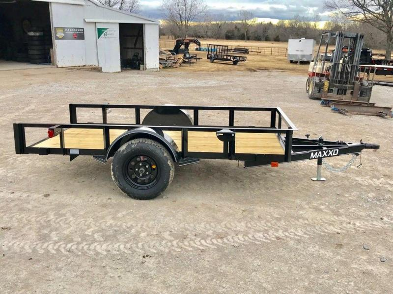 2019 MAXXD 10ft x 5ft Single Axle Quick Tilt
