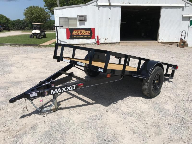 2019 MAXXD 10ft x 5ft Single Axle Quick Tilt