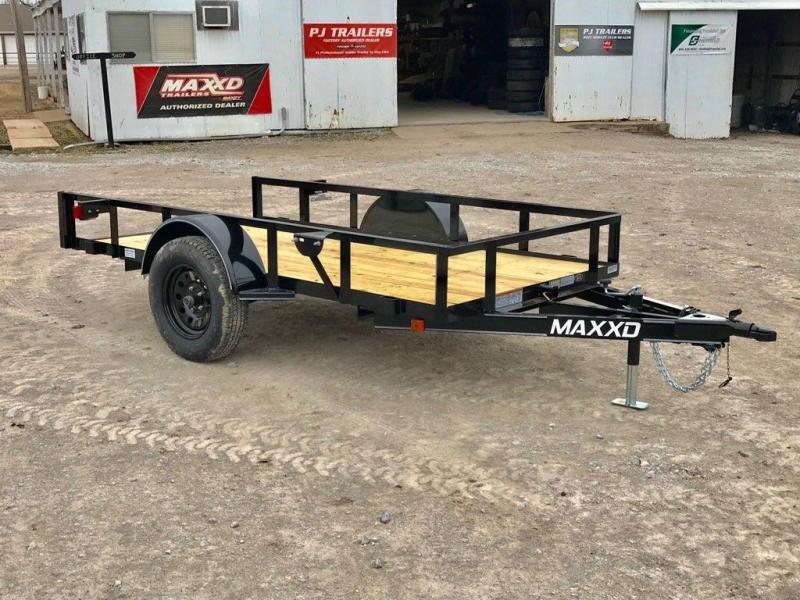 2019 MAXXD 10' x 5' Single Axle Quick Tilt