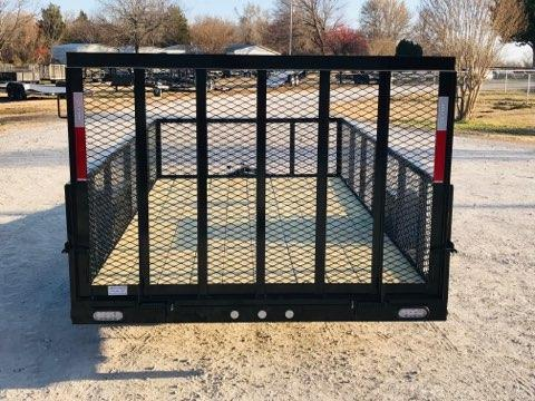 "2019 MAXXD 12' x 77"" Single Axle Landscape Trailer"