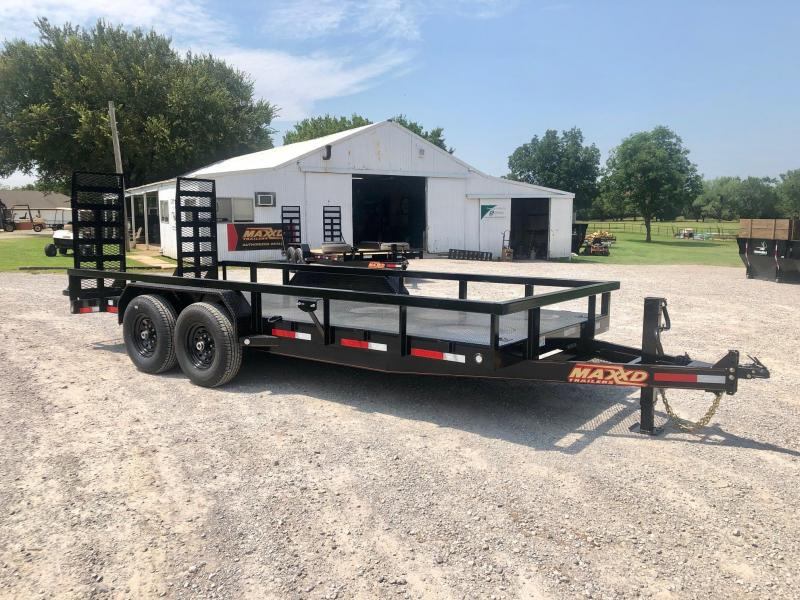 "2020 MAXXD 18' x 83"" Equipment Hauler 14K"