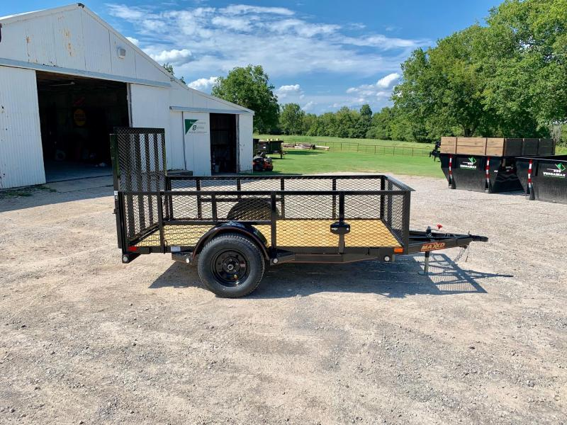 2020 MAXXD 5' X 10' Single Axle Landscape Trailer