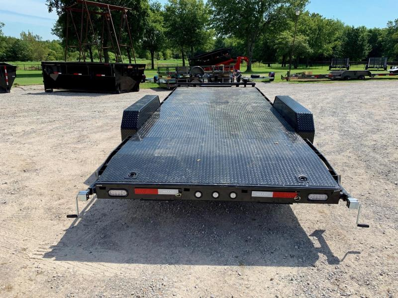 "2020 MAXXD 20' x 83"" Steel Deck Equipment Hauler 14K"
