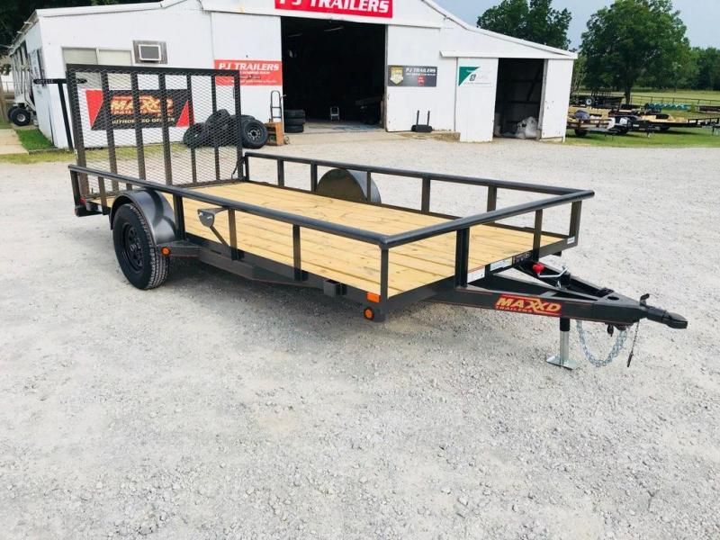 "2019 MAXXD 14' x 77"" Single Axle Utility"