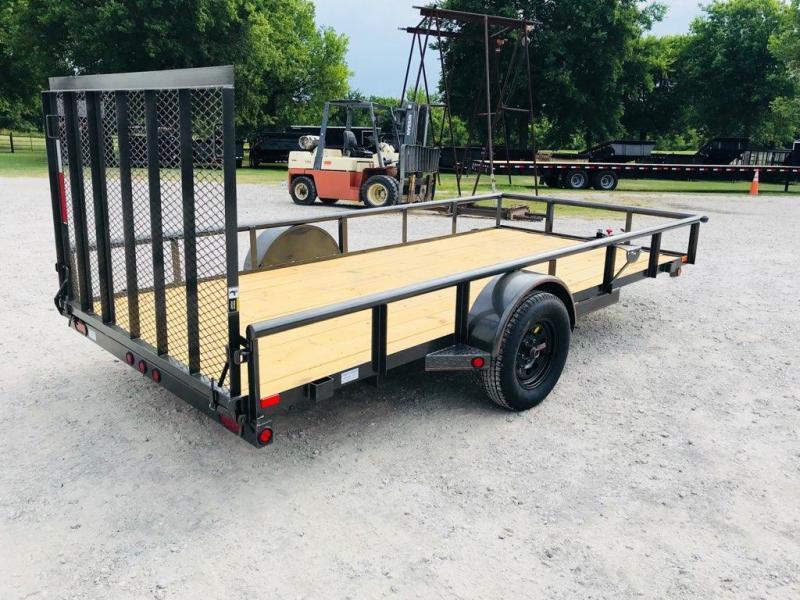 "2019 MAXXD 14' x 77"" Single Axle Utility"