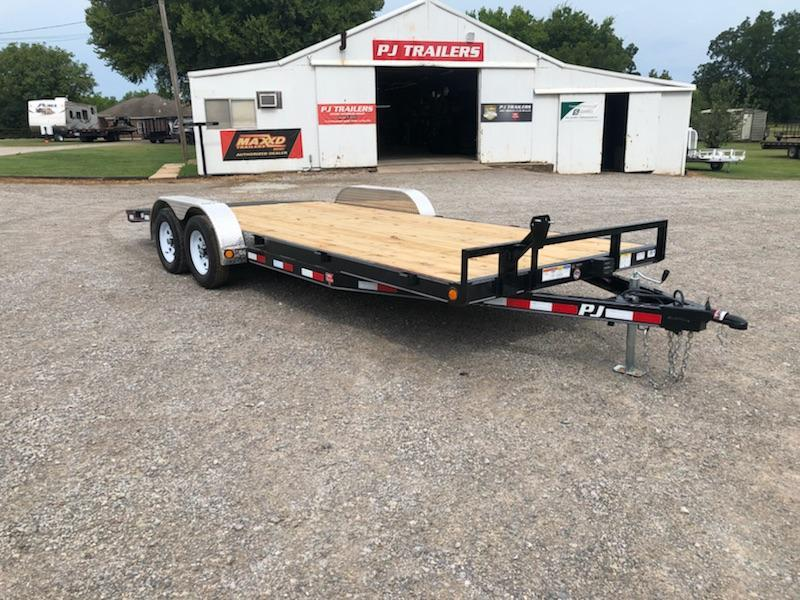 "2019 PJ Trailers 20' x 5"" Channel Carhauler 7K"