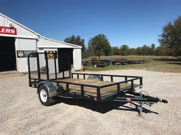 "2018 PJ Trailers 12' x 83"" Single Axle Utility Trailer"