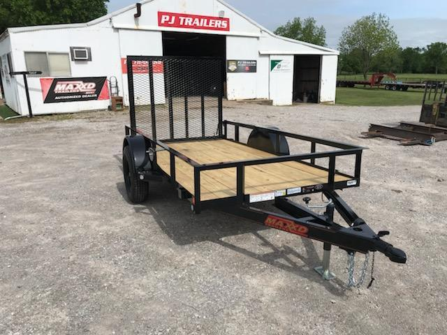 2019 MAXXD 10' x 5' Single Axle Utility