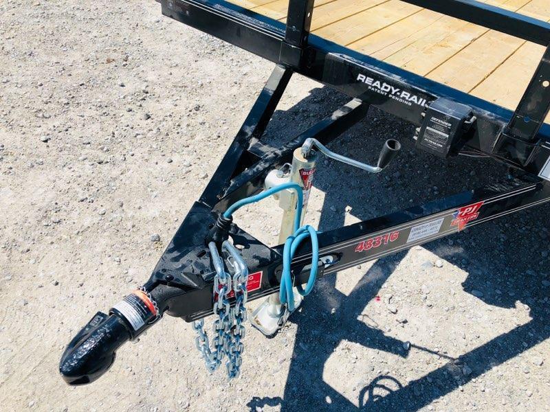 "2019 PJ Trailers 16' x 83"" Tandem Axle Utility"