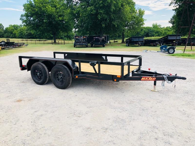 2018 MAXXD 12' x 5' Tandem Axle Utility Trailer