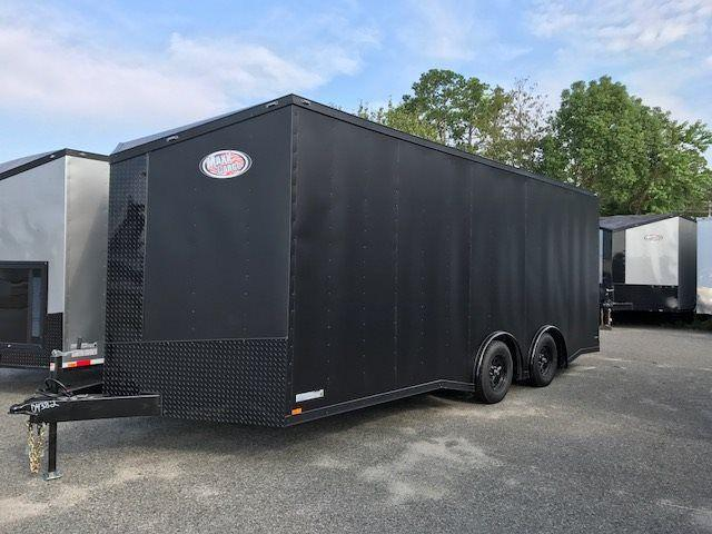 2018 Diamond Cargo 8.5x20 TA Matte Black - Blackout Edition in Ehrhardt, SC
