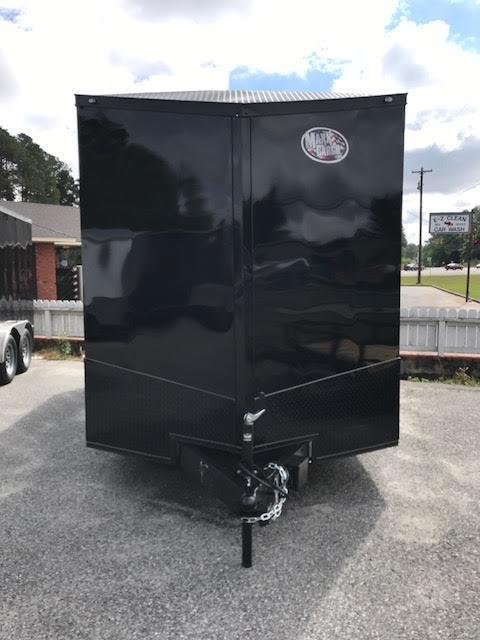 2019 Anvil 7x14 TA Blackout Motorcycle Trailer in Ashburn, VA