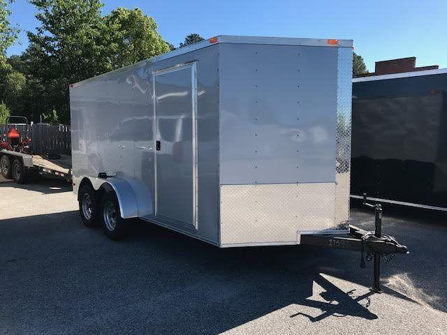 2017 Diamond Cargo 7 x 16 TA Enclosed Cargo Trailer
