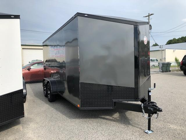 2019 Spartan 7x16 TA Motorcycle Trailer