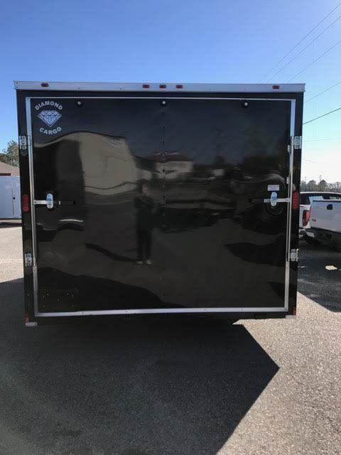 2019 Diamond Cargo 8.5 x 16 TA Enclosed Cargo Trailer