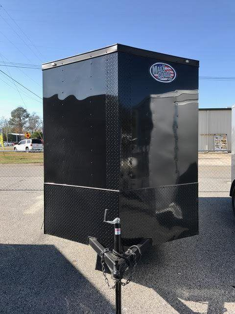 2017 Diamond Cargo 6x12SA Single Axle Enclosed Cargo Trailer - Blackout