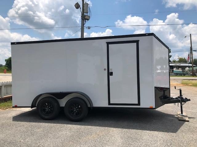 2019 Spartan 7x14 TA Motorcycle Trailer