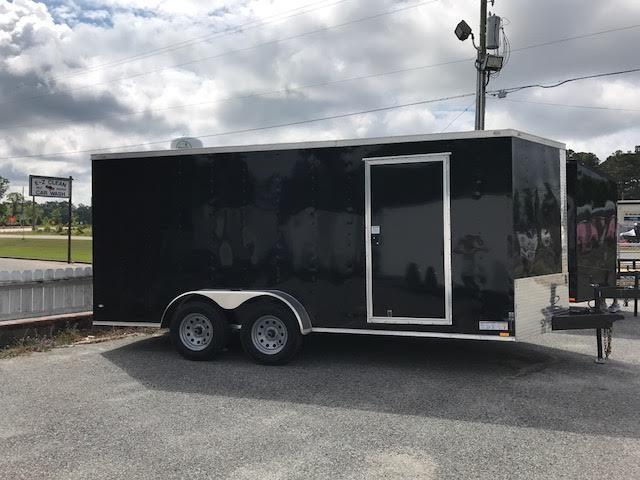 2018 Diamond Cargo 7x16 TA Motorcycle Trailer