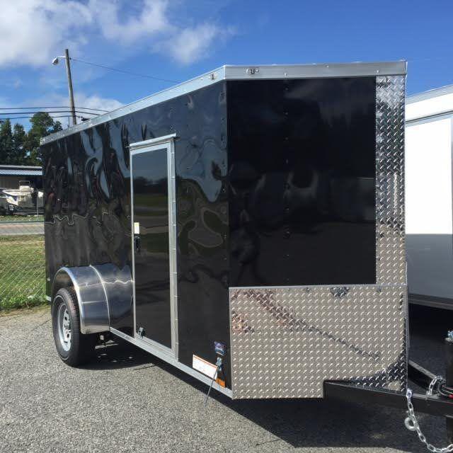 2017 Diamond Cargo 6x12 SA Enclosed Cargo Trailer