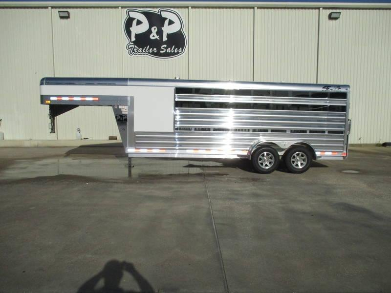 2019 4-Star Trailers Show Stock Gooseneck w/6 Pens in OK