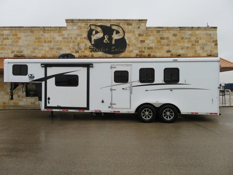 2019 Bison 7309THSO 3 Horse 9' Short Wall