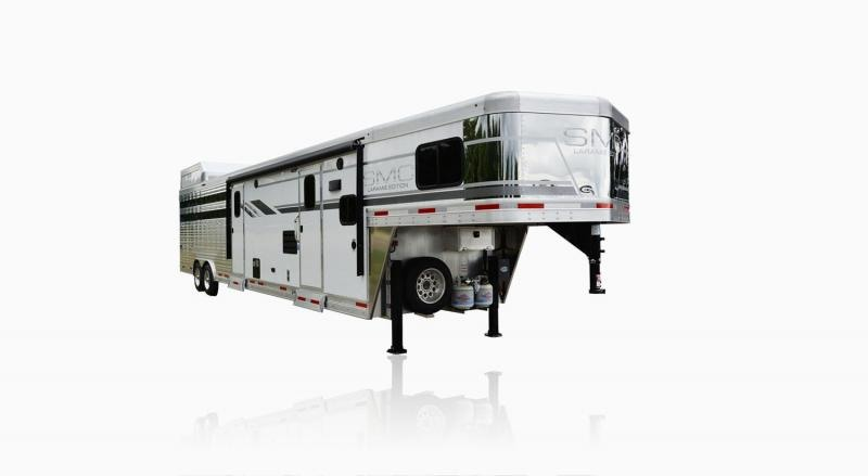 2019 SMC Horse Trailers SLE8X11SFK LARAMIE 11ft LQ Livestock Trailer in Ashburn, VA