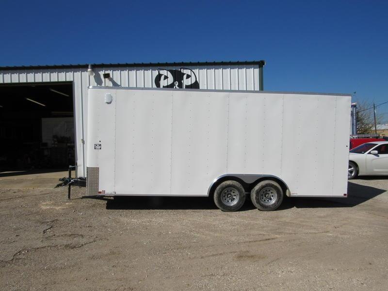 2019 Carry-On Trailer Cargo Trailers 8.5X20 CGRBN in Ashburn, VA