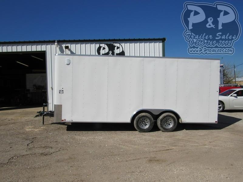 2019 Carry-On Trailer Cargo Trailers 8.5X20 CGRBN
