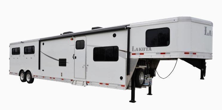 2019 Lakota Colt AC8X15 3 Horse 15' LQ Horse Trailer