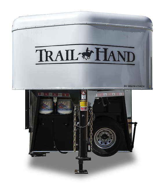 2019 Bison Trailers 7410TH LQ Horse Trailer