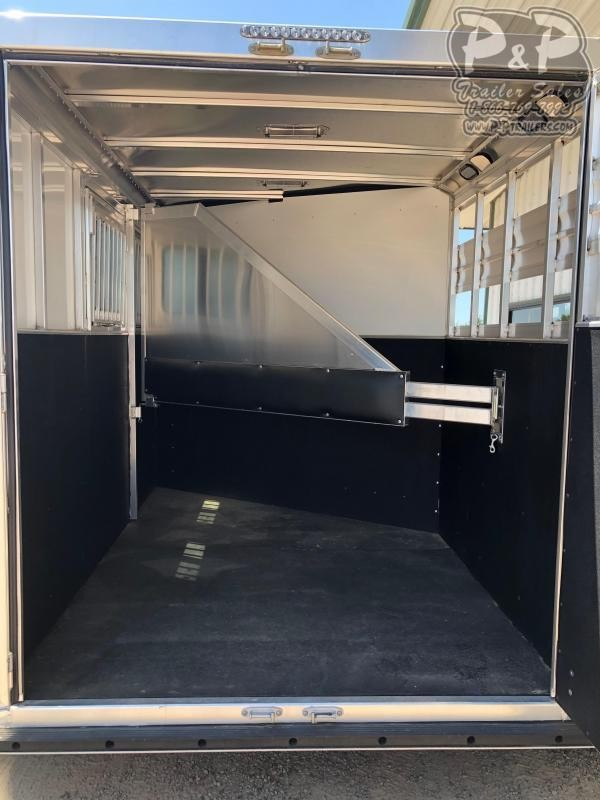 2019 CM Renegade 2-Horse 13 ft. 6 8 2 Horse Trailer Slant
