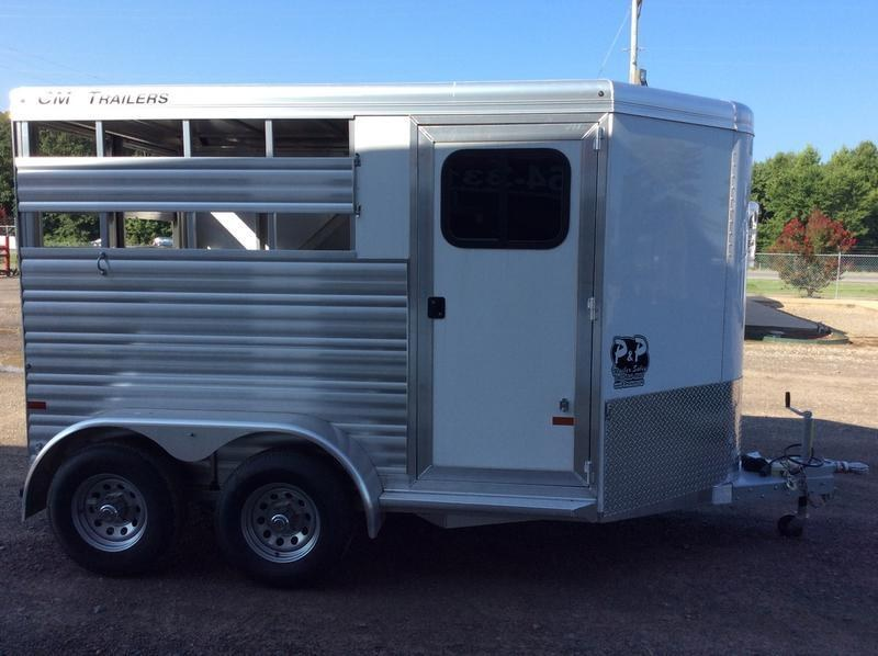 2019 CM Trailers Renegade 2-Horse 13 ft. 6' 8