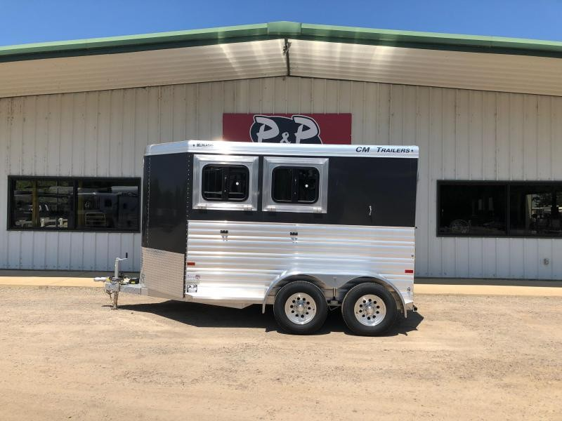 2020 CM Renegade 2-Horse 13 ft. 6 8 2 Horse Trailer Slant