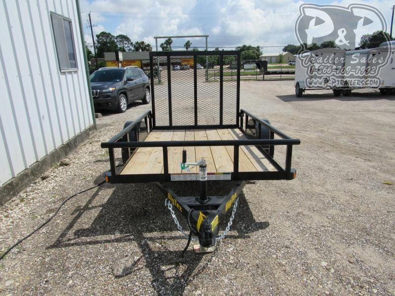 2019 Big Tex Trailers 30SA-08 8 ft Utility Trailer