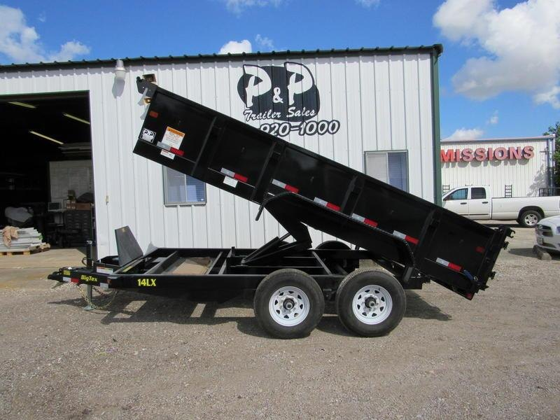 "2019 Big Tex Trailers 83"" x14' Tandem Dump 7SIRPD"