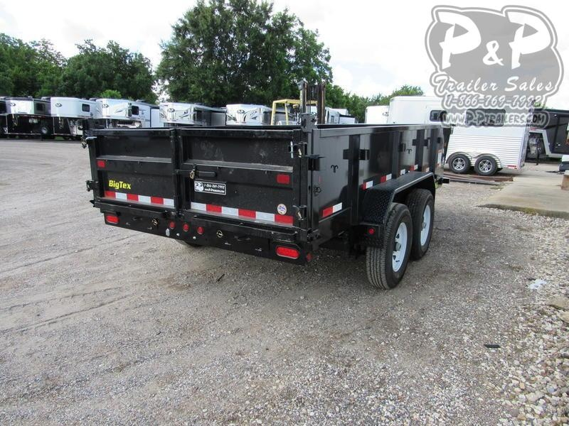 2020 Big Tex Trailers 14LX-14BK7SIR 14 ft Dump Trailer