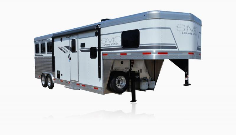 2019 SMC Horse Trailers SL8X10FK LARAMIE 3 Horse 10' LQ Horse Trailer Slant