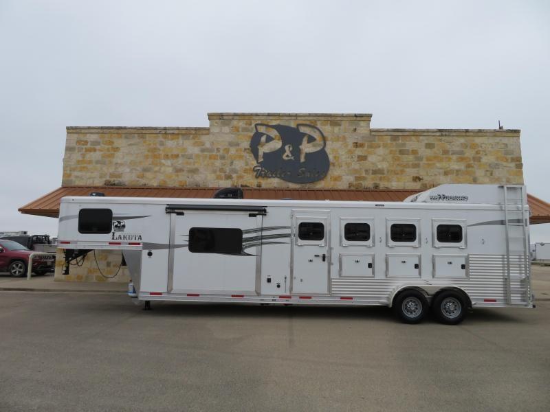 2019 Lakota 4H 11SW Horse Trailer