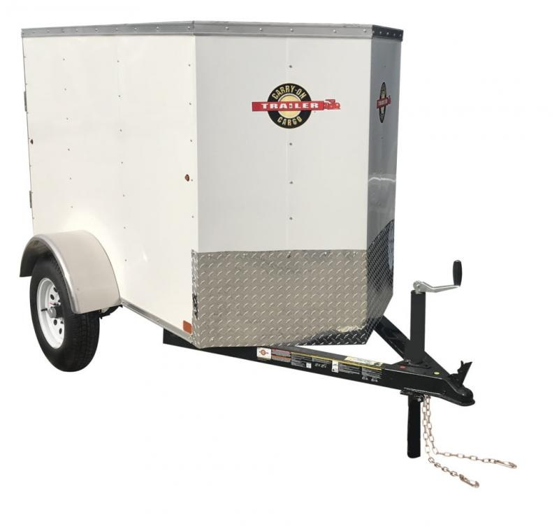 2019 Carry-On 4X6CGVEC-13 Enclosed Cargo Trailer