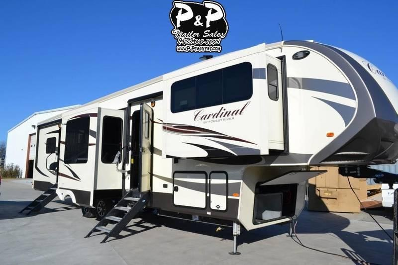 2018 Forest River Cardinal Limited 3920TZLE
