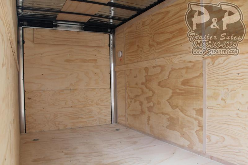 2019 Carry-On 7X18CGRBN 18' Enclosed Cargo Trailer