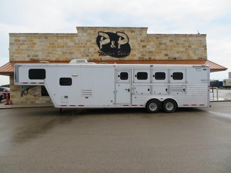 2005 Cimarron Trailers Norstar 4 Horse 10' Short Wall
