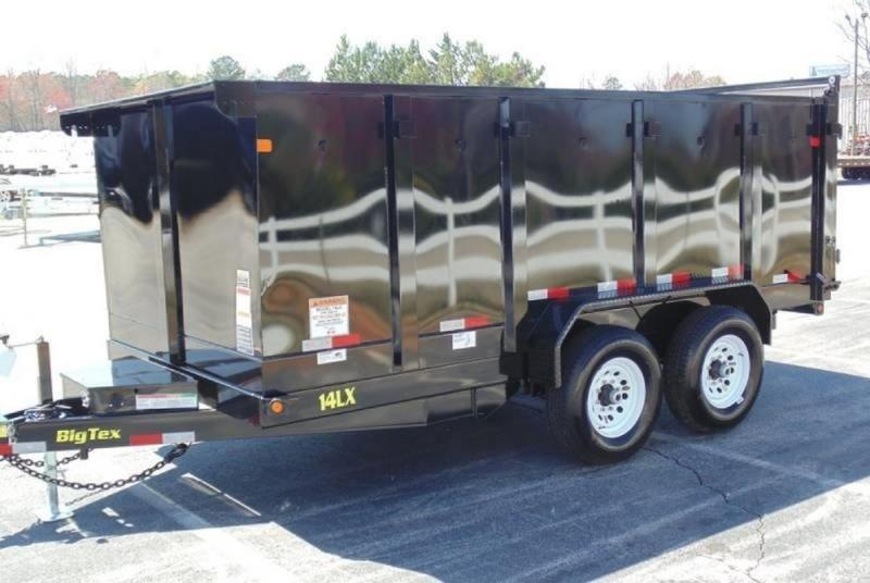 2018 Big Tex Trailers 14LX-14BK-P4
